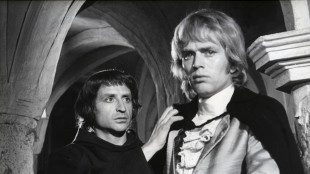 "Fred Robsahm som Philippe i ""Spolta Viva fra 1973 (Foto: © Fredrik Fiction)."