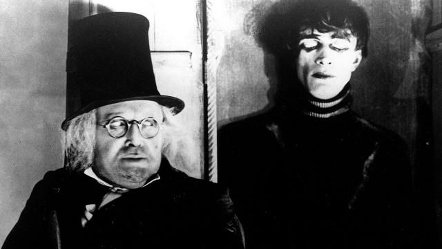 Scene fra Dr. Caligaris kabinett. (Foto: Kino Video)