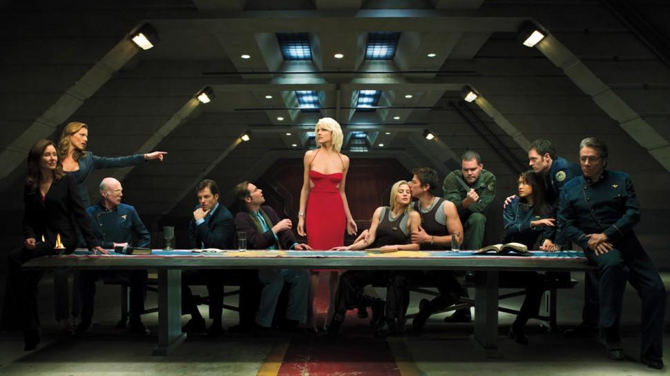 Sesong 4 av Battlestar Galactica kommer med både avsløringer og nye mysterier. (Foto: Syfy.com/Art Streiber)