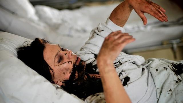 Johanna Gustavsson i Mørke sjeler. (Foto: Addict Films)
