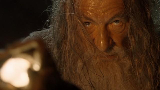 Sir Ian McKellen som Gandalf. (Foto: SF Norge Video)