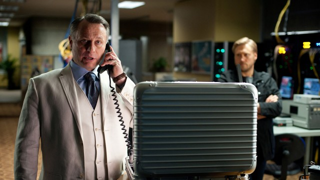 Michael Nyqvist og Samuli Edelmann i Mission: Impossible - Ghost Protocol (Foto: United International Pictures Norway).