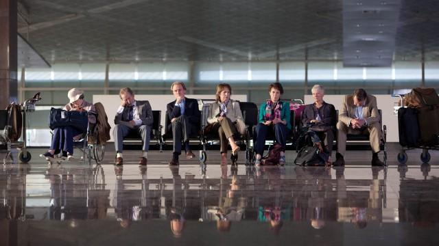 Maggie Smith, Ronald Pickup, Bill Nighy, Penelope Wilton, Celia Imrie, Judi Dench og Tom Wilkinson (Foto: Twentieth Century Fox).