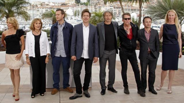 Dette er hovedaktørene fra Jagten i Cannes (Foto: REUTERS/Jean-Paul Pelissier).