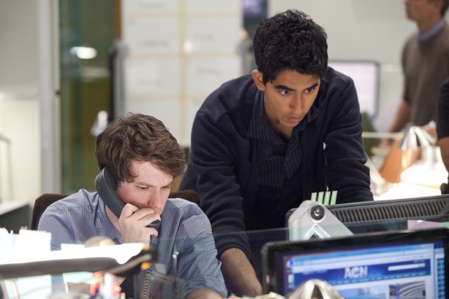 The Newsroom: John Gallagher Jr. og Dev Patel (Foto: HBO).