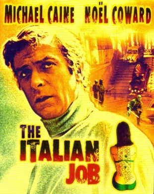«The Italian Job» frå 1969. (Foto: Paramount Home Entertainment)