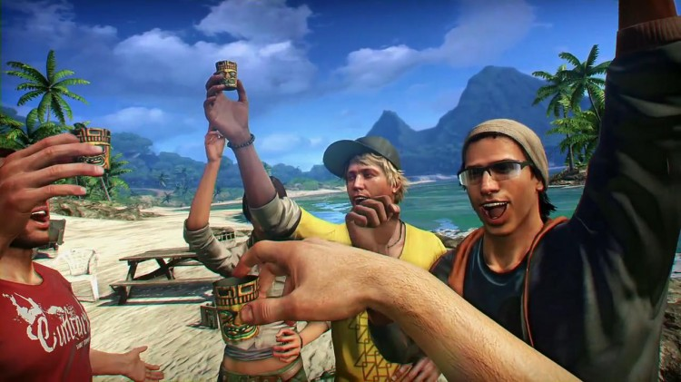 Fra traileren til Far Cry 3. (Foto: Ubisoft)