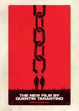 Django Unchained-plakat. (Foto: The Walt Disney Company Nordic)