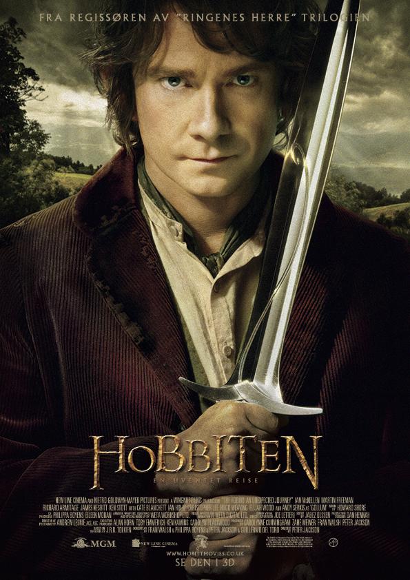 Hobbiten en uventet reise slippdato 12 12 2012 regi peter jackson
