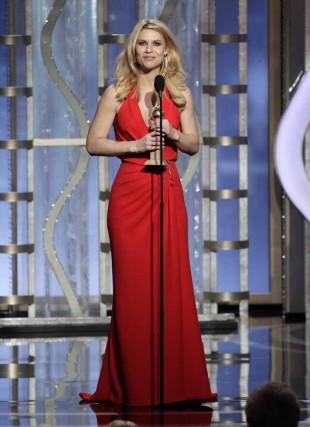 I fjor var det «Homeland» som tok flest prisar, kven blir det i år? (Foto: AP Photo/NBC, Paul Drinkwater)