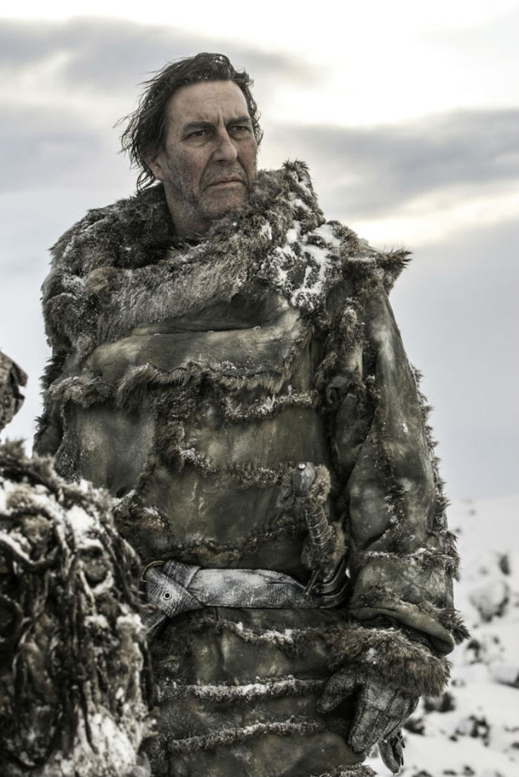 Ciaran Hinds som Mance Rayder i Game of Thrones  (Foto: Helen Sloan, HBO).