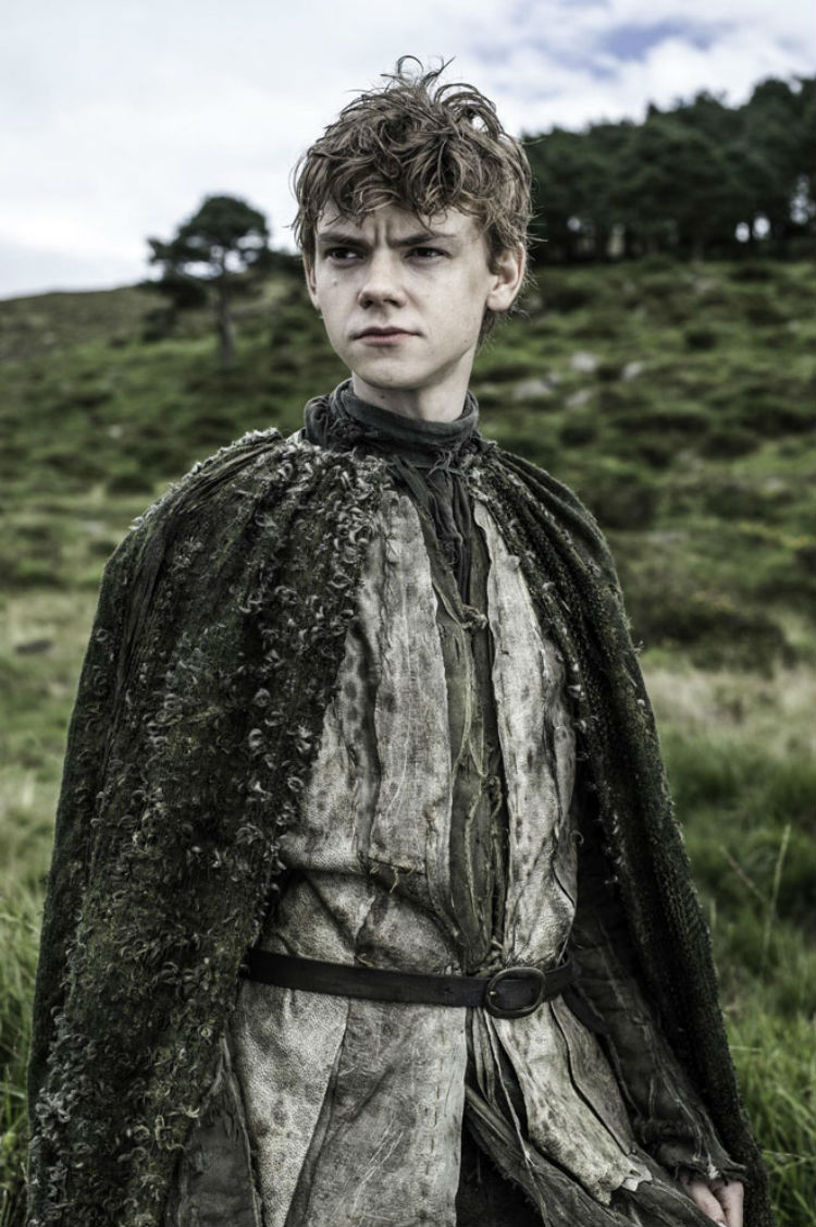 Thomas Brodie Sangster som Jojen Reed. (Foto: Helen Sloan, HBO).