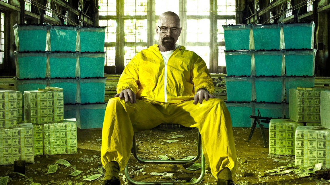 Bryan Cranston som Walter White i «Breaking Bad». (Foto: AMC).