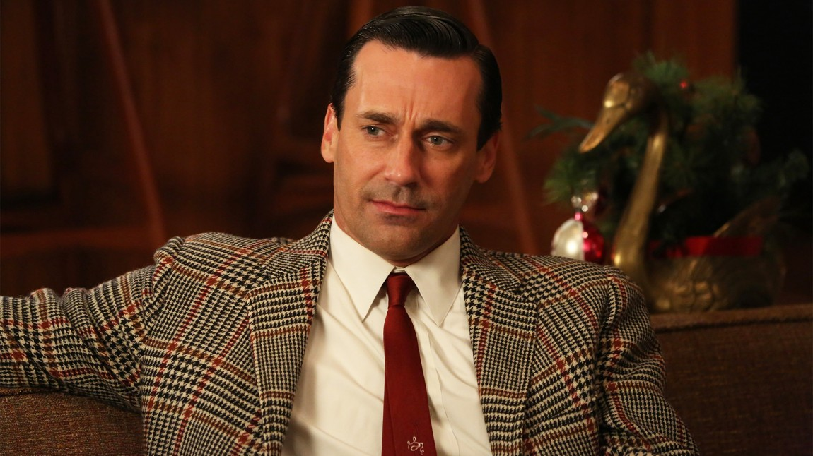 Jon Hamm som Don Draper i tv-serien Mad Men - sesong 6. (AP Photo/AMC, Michael Yarish)