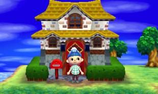 Å bygge, endre, male og farge ditt eget hus, kan holde på oppmerksomheten i flere uker. Skjermbilde fra «Animal Crossing: New Leaf». (Foto: Nintendo)