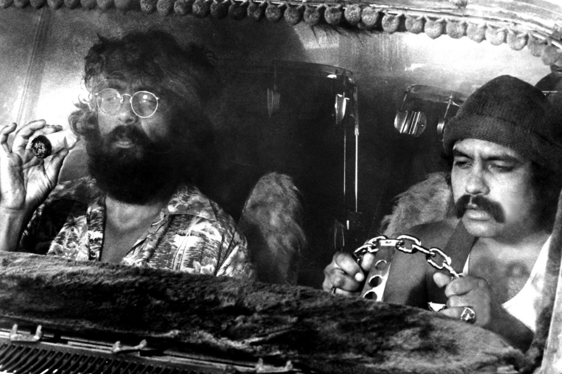 Cheech and Chong, her fra «Up in Smoke».