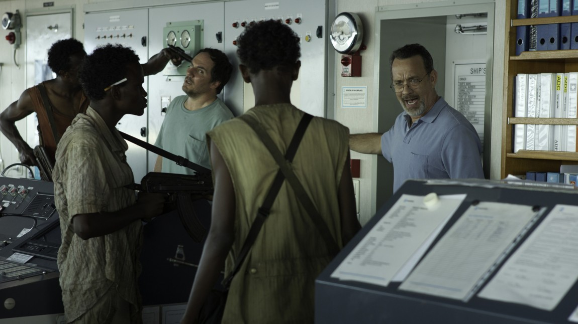 Stor spenning på skipsbroen i Captain Phillips (Foto: United International Pictures).