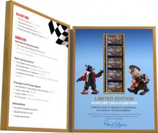 Du får ei filmstripe på kjøpet i Blu-ray-utgaven av Flåklypa Grand Prix (Foto: Caprino Studios).