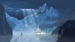 Norsk-inspirerte omgivelser i Frost (Foto: The Walt Disney Company Nordic).