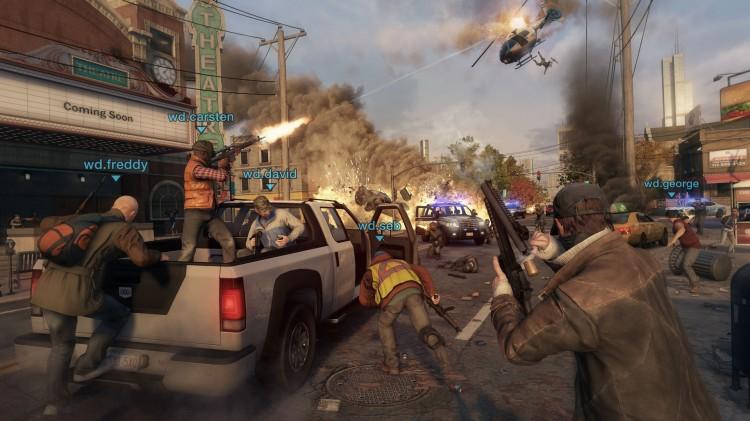 Alle spillere ser seg selv som Aiden, mens andre spillere er andre figurer. (Foto: Ubisoft).