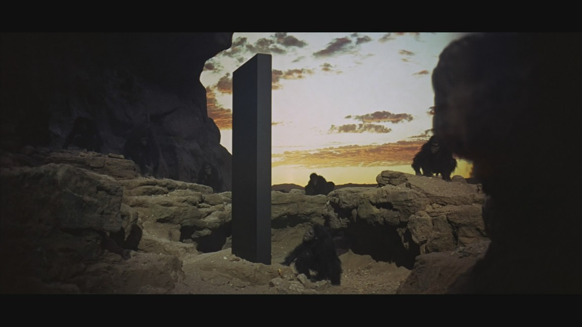 Stillbilde fra Blu-ray-utgivelsen av «2001: En rom odysse». (Foto: Warner Bros.)