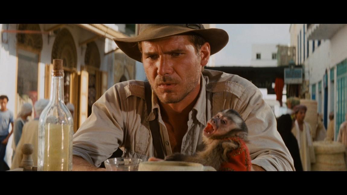 Stillbilde fra Blu-ray-utgivelsen av «Raiders of the Lost Ark» fra 1981. (Foto:  Paramount Pictures)