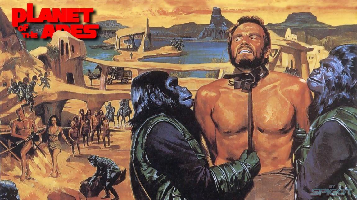 Filmplakat for den originale «Planet of the Apes»-filmen fra 1968. (Foto: 20th Century Fox)