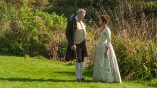 Lord Mansfield (Tom Wilkinson) og Dido Elizabeth Belle (Gugu Mbatha-Raw) i Belle (Foto: Tour de Force).