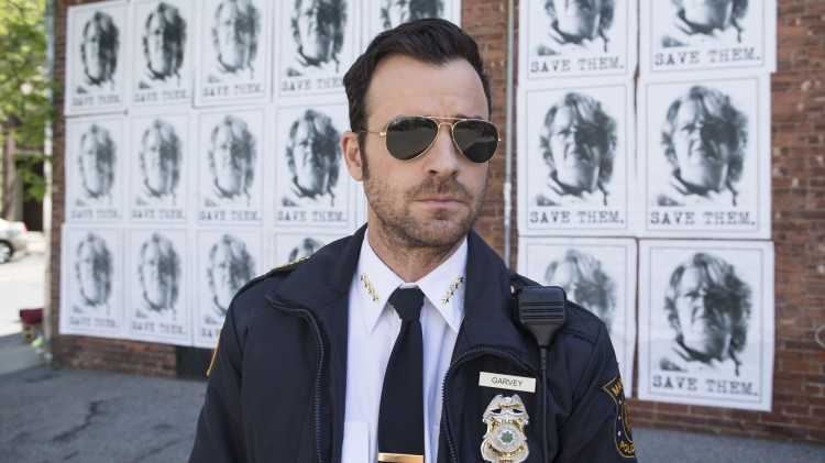 Justin Theroux som politimannen Kevin Garvey i The Leftovers. (Foto: HBO Nordic).