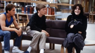 Emilio Estevez, Anthony Michael Hall og Ally Sheedy i The Breakfast Club (Foto: Universal Sony Pictures).