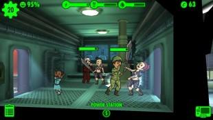 Skjermbilde fra «Fallout Shelter». (Foto: Bethesda Softworks)