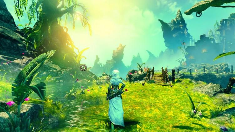 Skjermdump: Trine 3 har varierte og vakre omgivelser. (Foto: Frozenbyte).