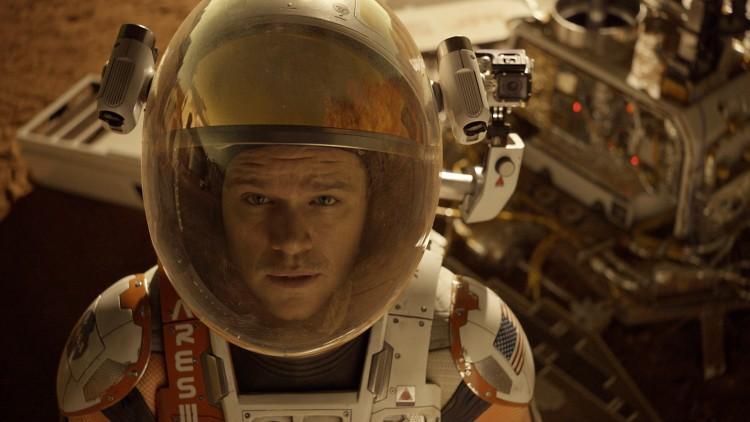 Mark Watney (Matt Damon) er strandet på Mars i The Martian (Foto: 20th Century Fox).