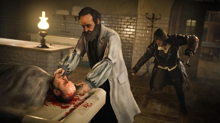 Jacob forsøker å snike seg ubemerket inn på fienden. (Foto: Ubisoft).