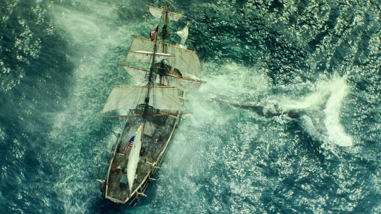 Hvalfangerskuta Essex møter en helt spesiell hval i In The Heart Of The Sea (Foto: SF Norge AS).
