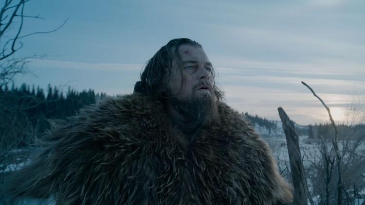 Leonardo DiCaprio har rikelig med både skjegg og pels i The Revenant. (Foto: Twentieth Century Fox Norway)