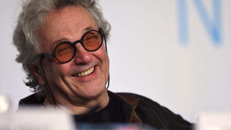 George Miller under Filmfestivalen i Cannes. (Foto:  AFP PHOTO / ANNE-CHRISTINE POUJOULAT, NTB Scanpix).