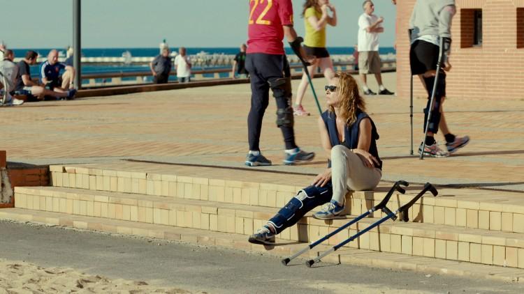 Tony (Emmanuelle Bercot) må på rekonvalesens etter en skiulykke i Min elskede (Foto: AS Fidalgo).