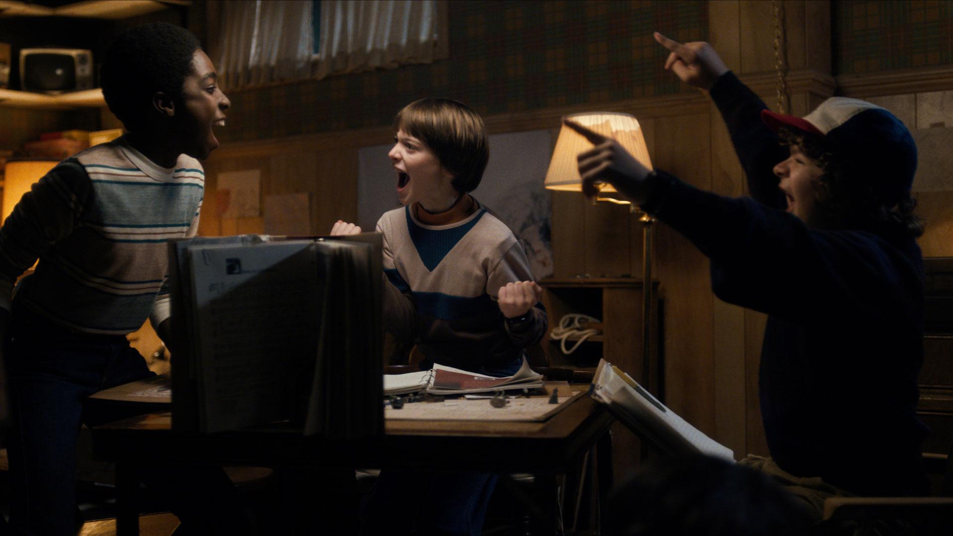 Stranger Things treffer blink med god kjemi og kult rollegalleri i vennegjengen. (Foto: Netflix)