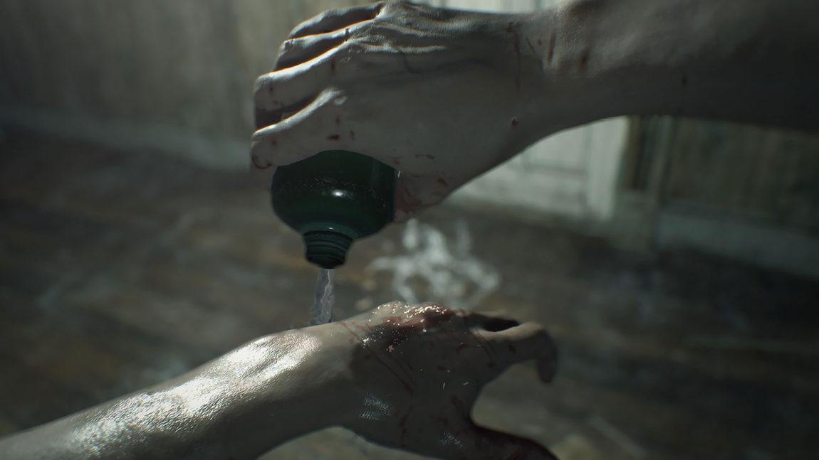 Medisin, som hjelper mot det aller meste, er ikke vanskelig å finne i Resident Evil 7: Biohazard. (Foto: Capcom / PAN Vision).