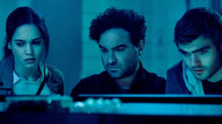 Julia (Matilda Lutz), Gabriel (Johnny Galecki) og Holt (Alex Roe) i Rings (Foto: United International Pictures)