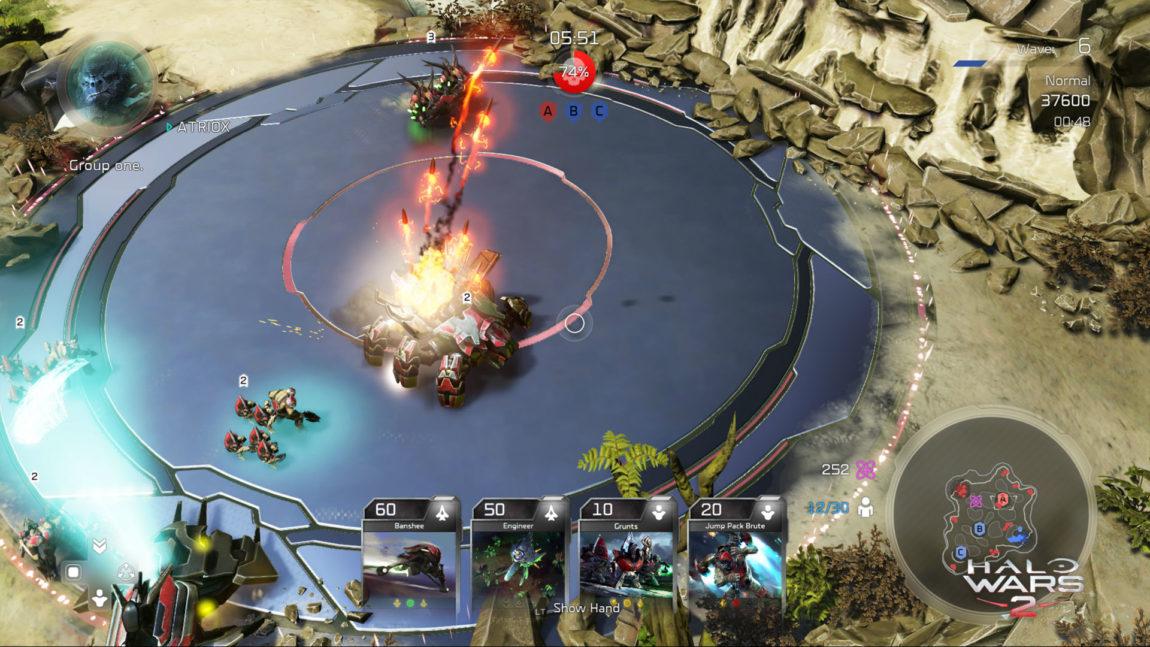 Blitz-modusen med «korthånda» nederst i midten. (Foto: Microsoft Studios).