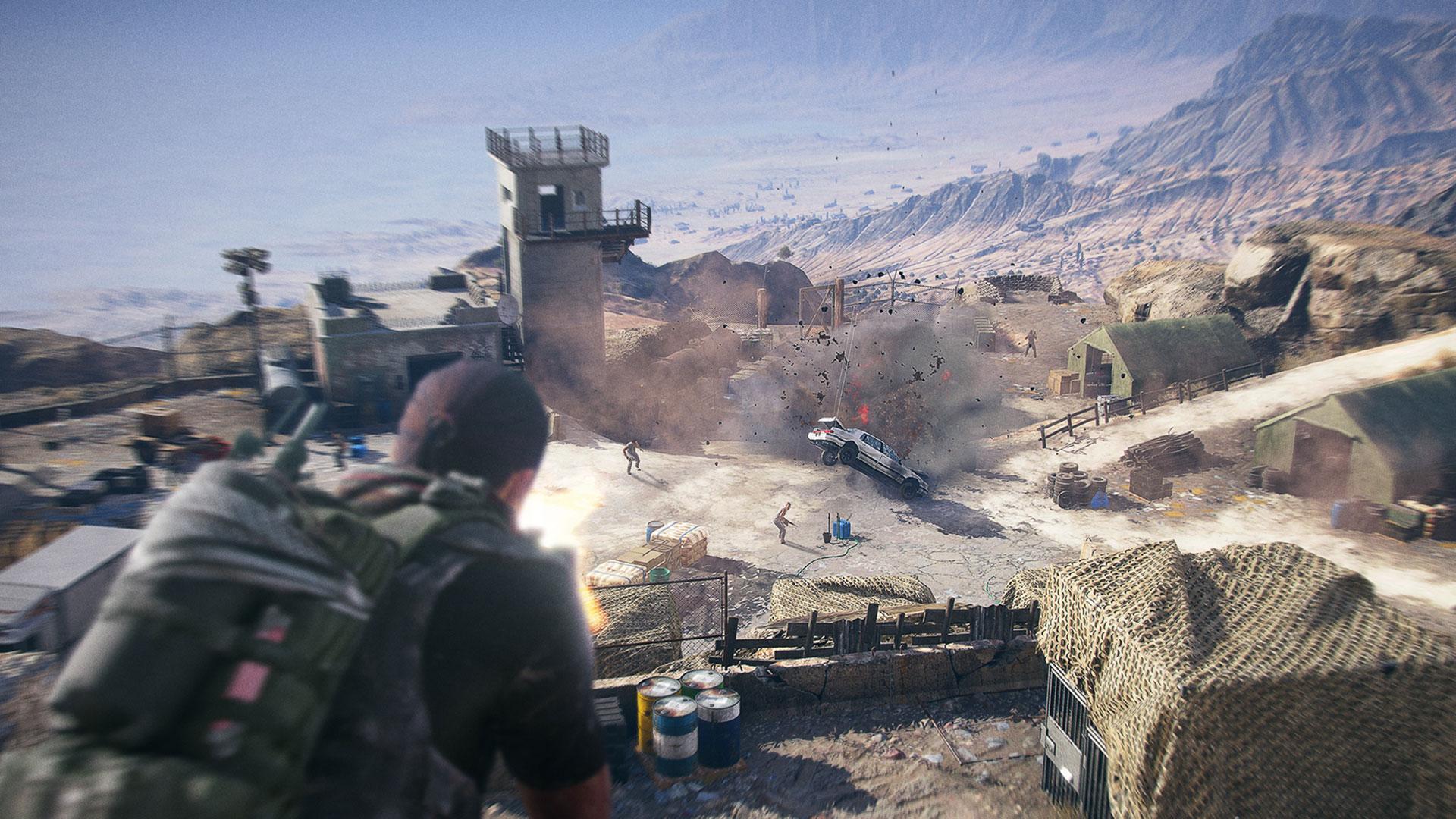 Ligg på avstand eller storm inn og skyt alt som rører seg. (Foto: Ubisoft)