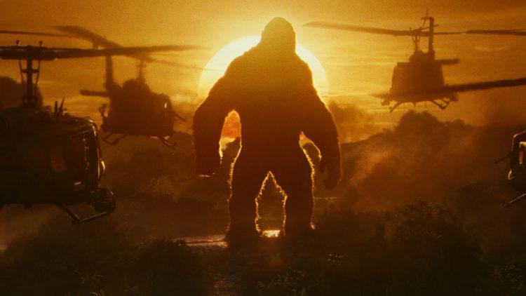 """Det brygger opp til kamp mellom menneske og dyr i """"Kong: Skull Island"""". (Foto: SF Studios)"""