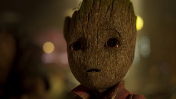 "Vin Diesel gir stemme til Baby Groot i ""Guardians of the Galaxy Vol. 2"". (Foto: ©Marvel Studios 2017)"