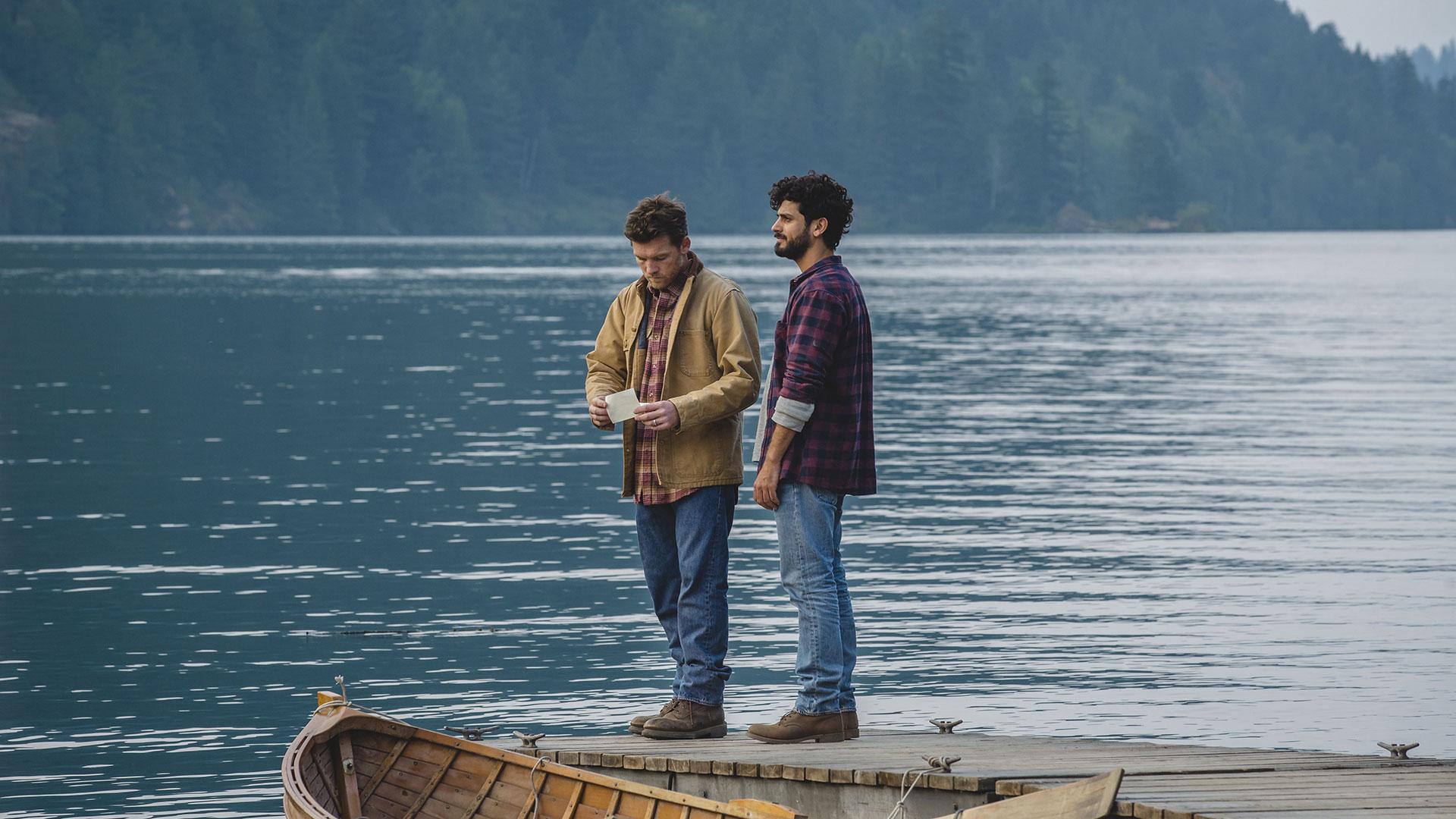 Mack og Jesus finner tonen fort.  (Foto: Nordisk Film Distribusjon AS)