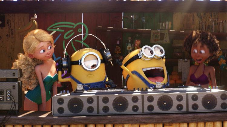 """Minions, de små, gule hjelperne, er selvfølgelig med i """"Grusomme meg 3"""". (Foto: United International Pictures)"""