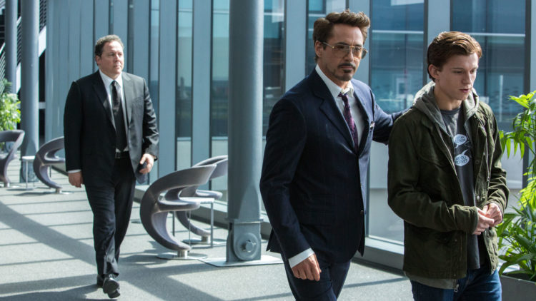 Det er rett og slett for mye Iron Man i Spider-Man: Homecoming. (Foto: United International Pictures).