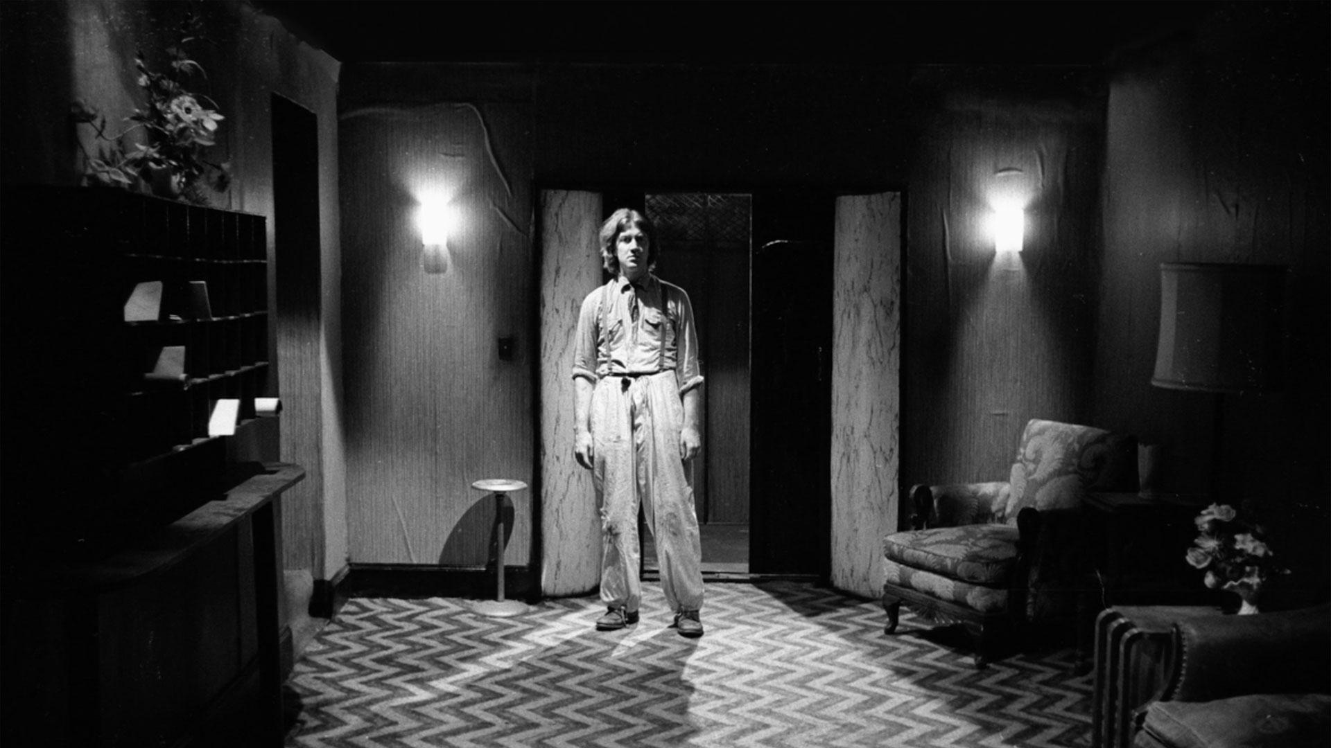 David Lynch som ung regissør på filmskolen i Los Angeles. (Foto: Storytelling Media)