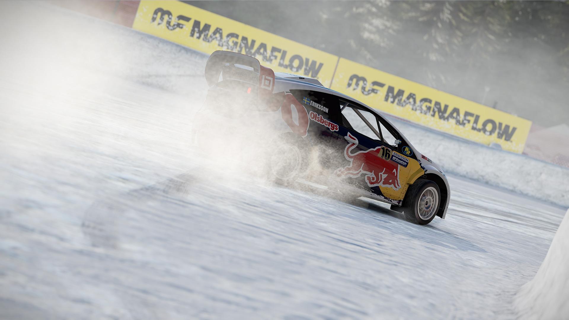 Rallycross-seriene i karrieremodusen var mer morsomme enn forventet. (Foto: Bandai Namco Entertainment).